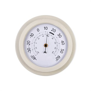 Tenby Thermometer Lily White