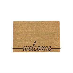 Welcome Coir Doormat 90x60cm