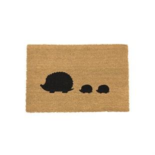 Hedgehog Coir Doormat 60x40cm