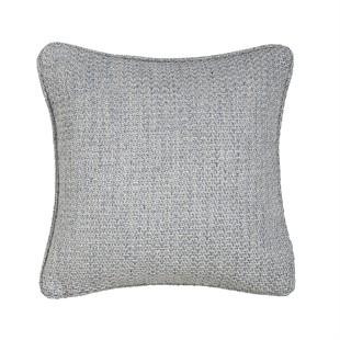 Woven Light Blue Cushion