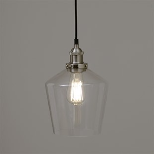 Madison Clear Glass Pendant