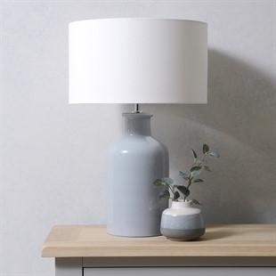 Huxley Pearl Blue Table Lamp