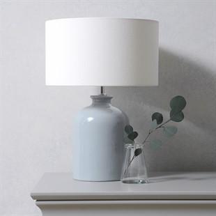 Dexter Pearl Blue Table Lamp