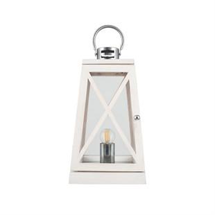 Juno White Wash Table Lamp