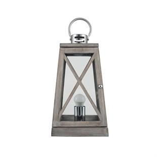 Juno Grey Table Lamp