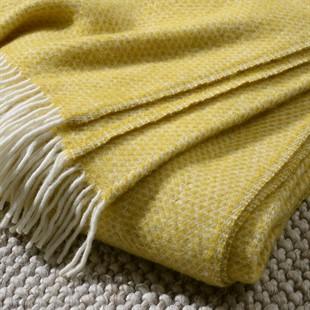 Beehive Throw - Yellow