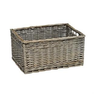 Large Antique Wash Storage Basket