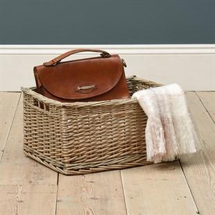 Extra Large Antique Wash Storage Basket