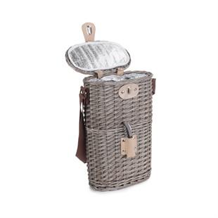 2 Bottle Chilled Carry Basket