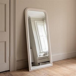 Chantilly Warm White Large Mirror