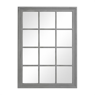 Brandon Distressed Mirror - Grey