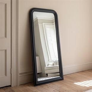 Chantilly Dusky Black Large Mirror