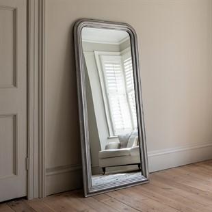 Silver Leaf large Mirror