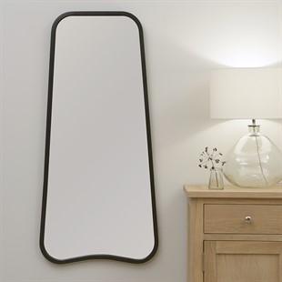 Savina large mirror - black