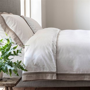 Hatherley Natural Double Duvet Cover