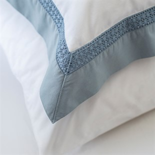 Hatherley Blue Oxford Pillowcase