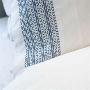 Avebury Blue Standard Pillowcase