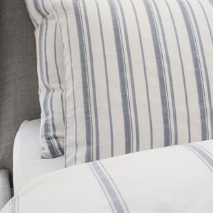 Broadwell Stripe Blue Pillowcase