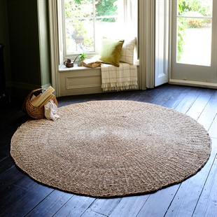Woven Round Seagrass Rug