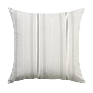 Natural Stripe Outdoor Cushion 50x50cm