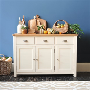 Sussex Cotswold Cream Large Sideboard