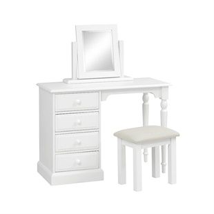 Burford Soft White Dressing Set