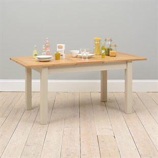 Lundy Stone 140-180cm Ext. Dining Table