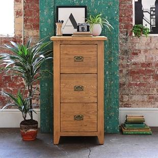 Oakland 3 Drawer Filing Cabinet