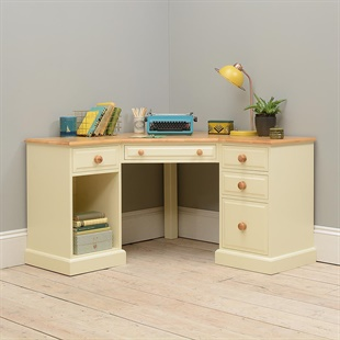 Wiltshire Painted Corner Office Desk