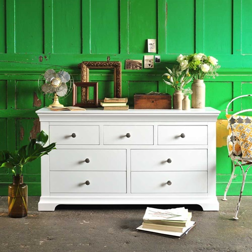 Chantilly White Chest of Drawers