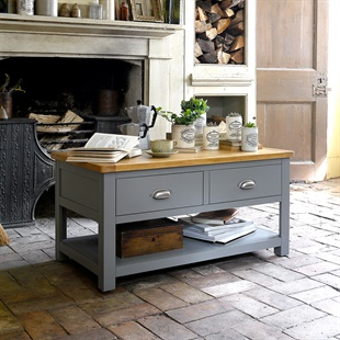 Sussex Storm Grey Coffee Table