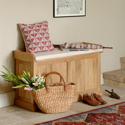 Oak Blanket Boxes